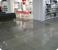 JCPenney polished concrete