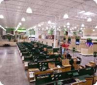 Menards retail fixture installation